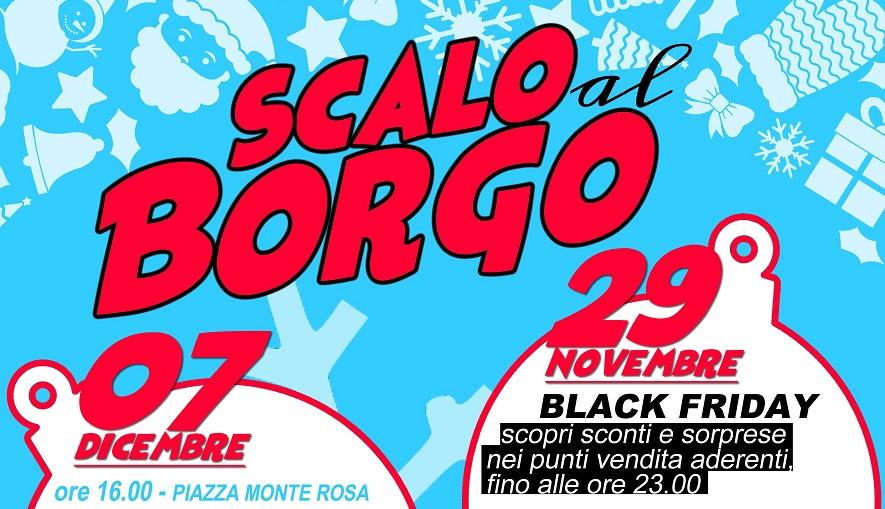 """""""Scalo al Borgo"""", 3 giornate di eventi in vista del Natale"""