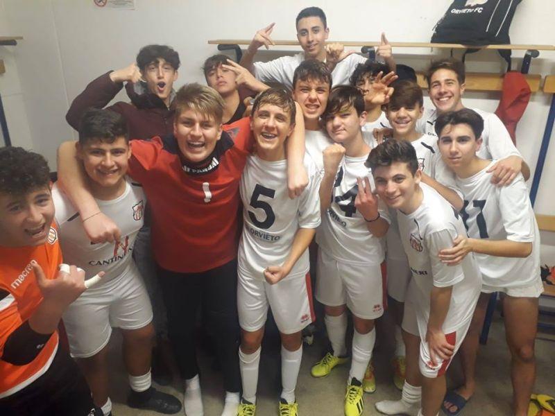 Orvieto Fc, si conclude lunedì 13 gennaio il lungo weekend agonistico. Bene gli Under 15 e Under 17