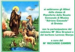 Concerto in onore di Sant'Antonio Abate