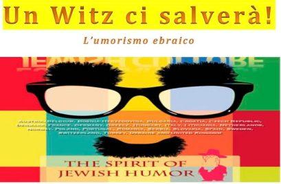 """A Bagnoregio con Gianni Abbate """"Un witz ci salverà!"""""""