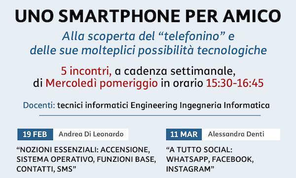 """""""Uno Smartphone per Amico"""", UniTre con Engineering"""