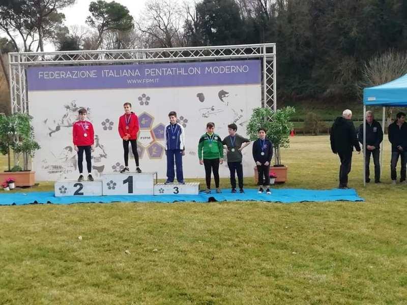 Asd Pm Pertica Orvieto Pentathlon Moderno, grande esordio di stagione al Criterium Nazionale Ragazzi