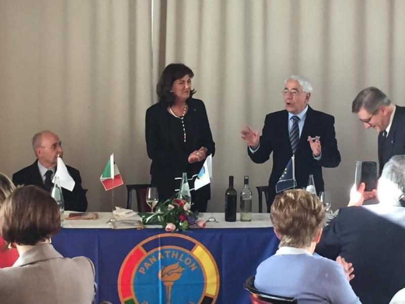 Rita Custodi è il nuovo Governatore dell'Area 10 cui fanno riferimento i cinque Club Panathlon della Regione Umbria