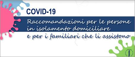 Covid-19, le raccomandazioni dell'ISS per le persone in isolamento domiciliare