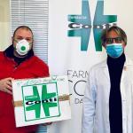 Emergenza coronavirus, la Farmacia Conti dona 1000 mascherine all'Ospedale di Terni