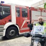 """Gli """"Angeli in moto"""" consegnano farmaci anche a Orvieto e Baschi"""