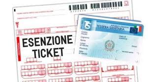 Esenzione ticket, i provvedimenti adottati in riferimeto all'emergenza Covid-19