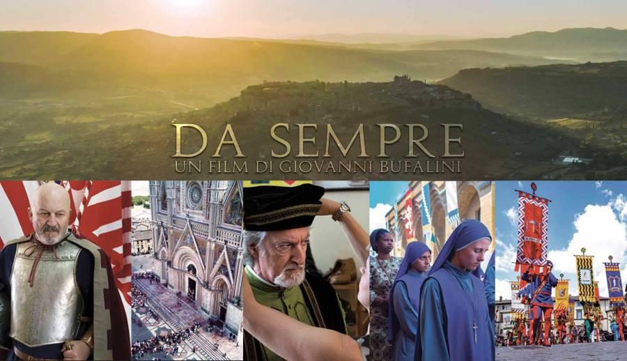 Orvieto ri-parte anche dalla cultura identitaria: riprendono le riprese del film Da Sempre