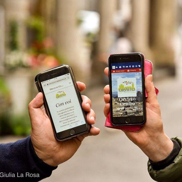 Orvieto Centro Con Voi, servizio a portata di app per cittadini e commercianti