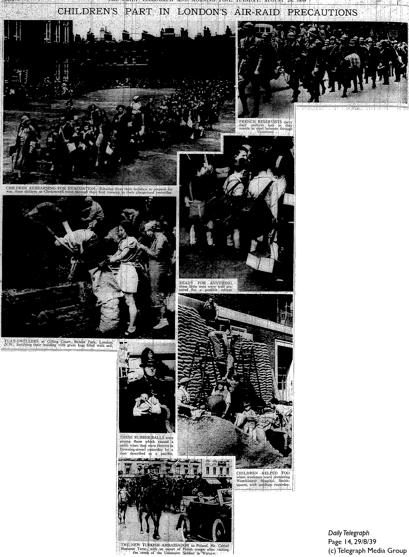 Daily Telegraph 29-8-39 Page 14