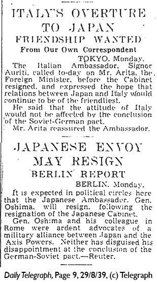 Daily Telegraph 29-8-39 Page 9