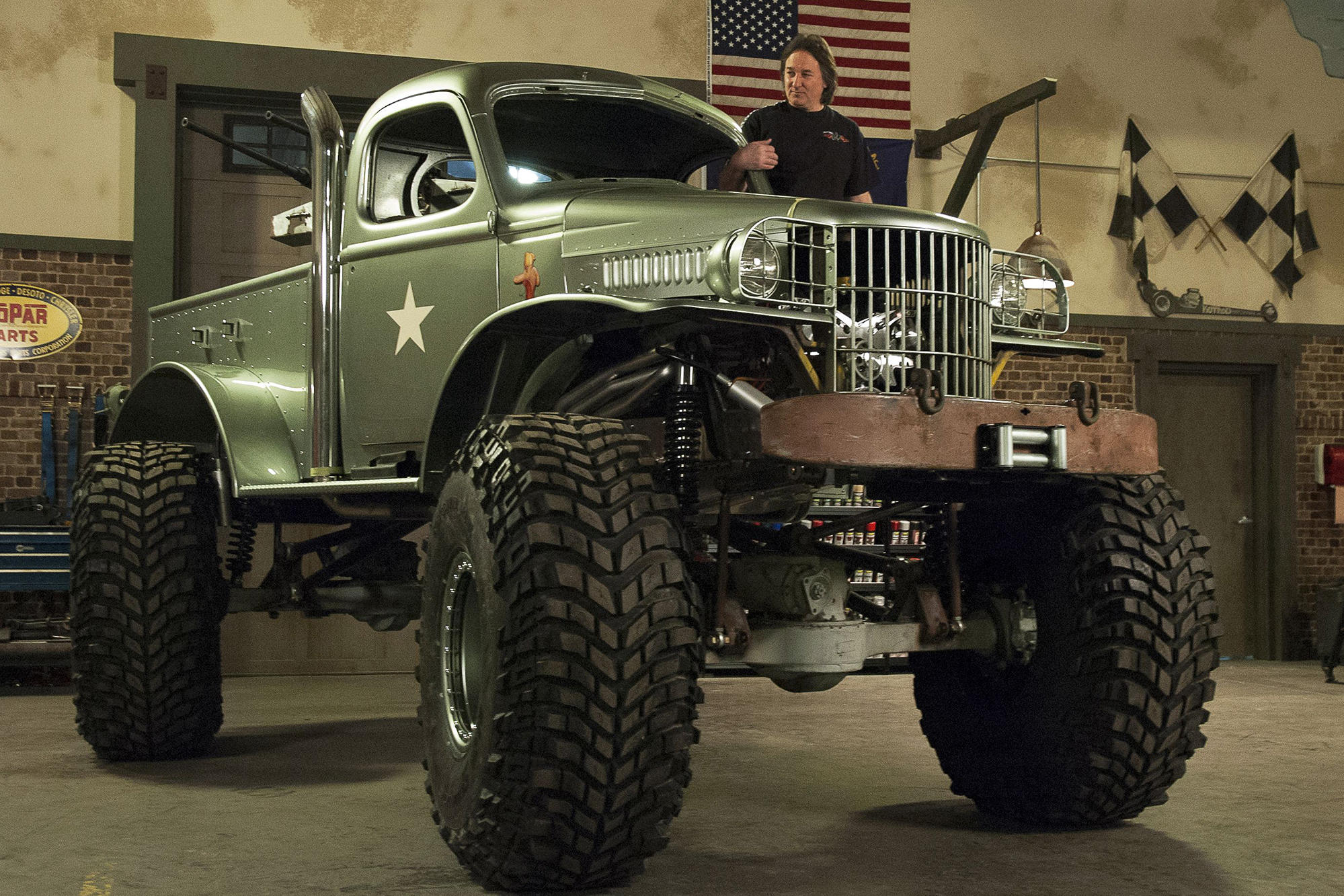 David Truck Military Stacey
