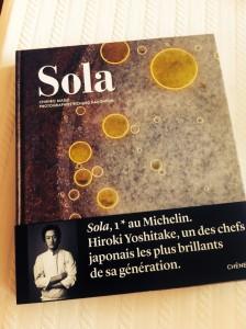 Solaの本。大きいです。素敵な本。