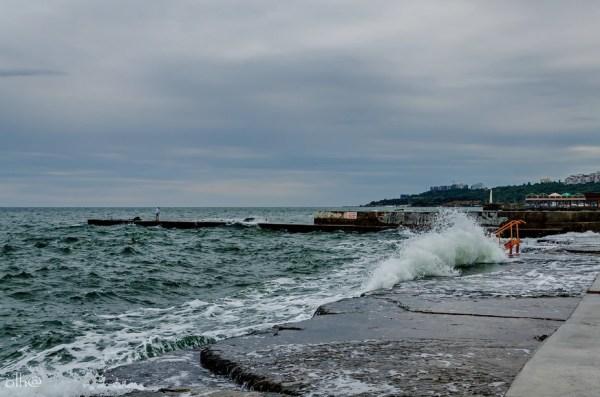 Фото волна, море, шторм, хвиля