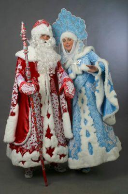 Фото праздник, зима, новый год, снегурочка, дед мороз
