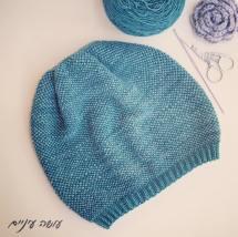 כובע סרוג - עושה עיניים || crochet hat - by OsaEinaim