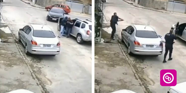 (Watch Video) Thief busted after stealing a car he couldn't drive