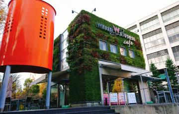 中津 カフェ ウィラーエクスプレスカフェ