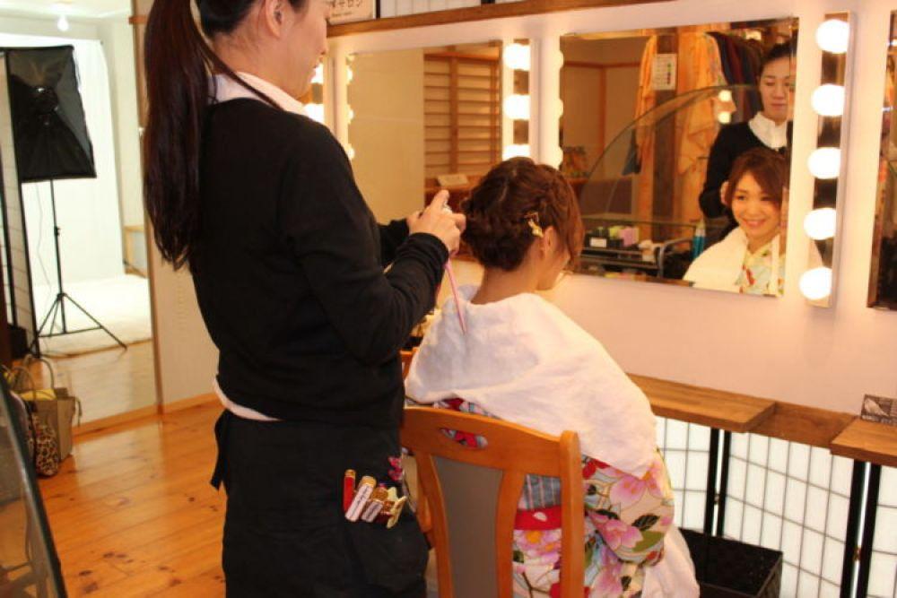 Hair making