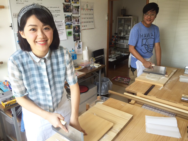 Picture of making Soba