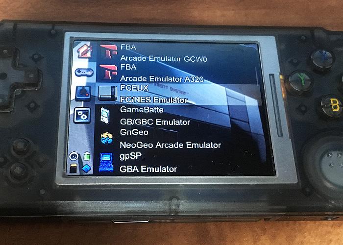 RETROGAME RS-97のファミコンエミュレータFCEUXの使い方