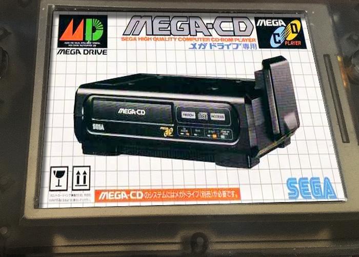 RETROGAME RS-97でメガドライブのエミュレーターPicodriveを使ってSEGA メガCDを遊ぶ方法