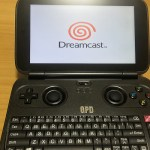 初代 GPD WIN z8750のDreamcast(ドリームキャスト)エミュレーターの使い方
