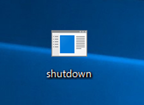 シャットダウンボタンをデスクトップに作るとGPD WINの使い勝手が良くなります
