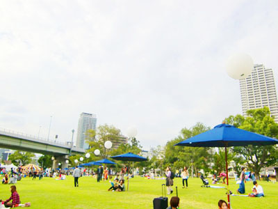 水都大阪フェス2012,中之島公園