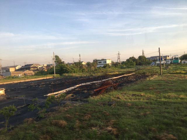 加太から和歌山市の間の風景,