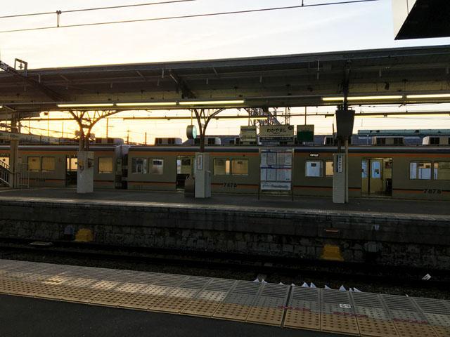 南海和歌山市駅のプラットフォーム,