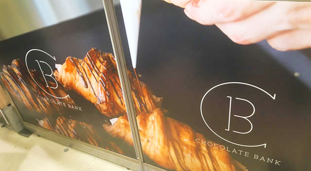 CHOCOLATE BANK,チョコレートバンク,第8回 阪急パンフェア,阪急うめだ本店,