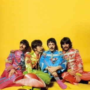 THE BEATLES SGT. PEPPER - RINGO STARR, JOHN LENNON, PAUL McCARTNEY, GEORGE HARRISON