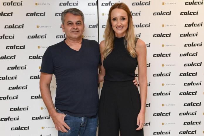 Jeziel Moraes e Adriana Zucco