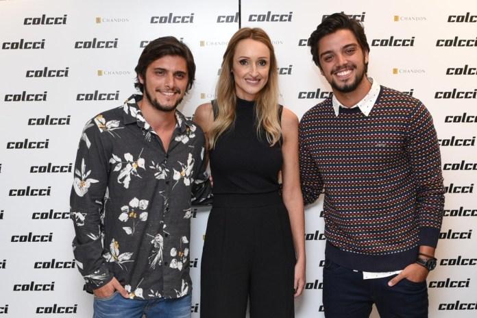 Bruno Gissoni, Adriana Zucco e Rodrigo Simas