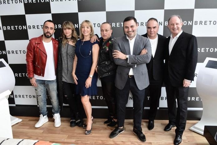 Yan Acioli, Juliana Jabour, Anette Rivkind, Valerio Araujo, Andre Lima, Reynaldo Lourenco e Marcel Rivkind (6) - ModaNews