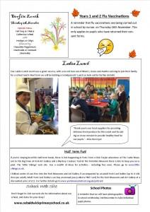 Newsletter 22.10.15
