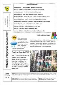Newsletter 13.05.16 2