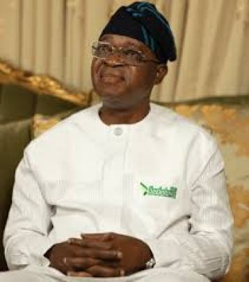 Governor state of Osun Mr. Gboyega Oyetola 1