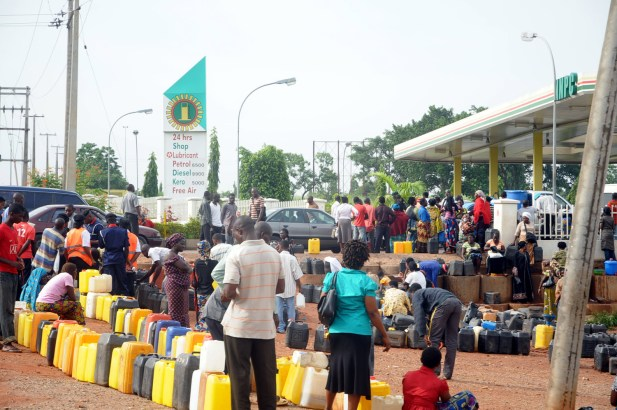 fuel scarcity in nigeria 1