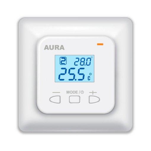 Терморегулятор AURA LTC 440 двухзонный