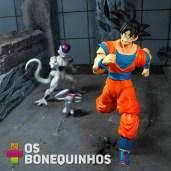 Goku fugindo