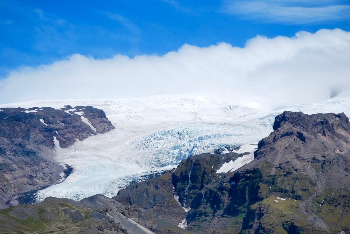 Vatnajökull, the largest glacier in Iceland
