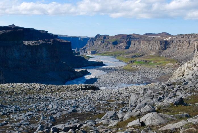 All that water heading into Vatnajökull National Park