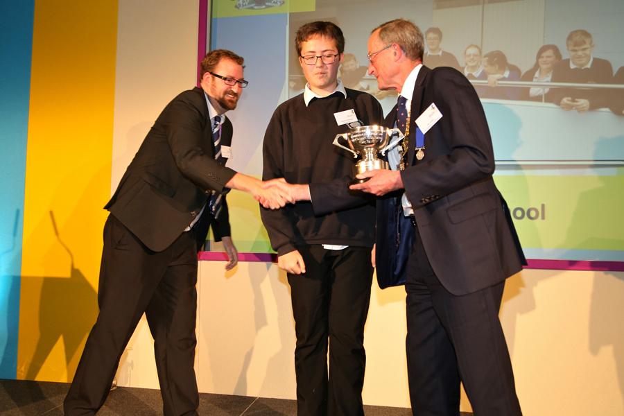 The Harrison Cup winner Ben Dlugokecki & Osborne School pupil