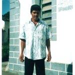 Teodoro filho de Samado, na vila de Pedra Branca, em 2003. Foto Jurema Machado