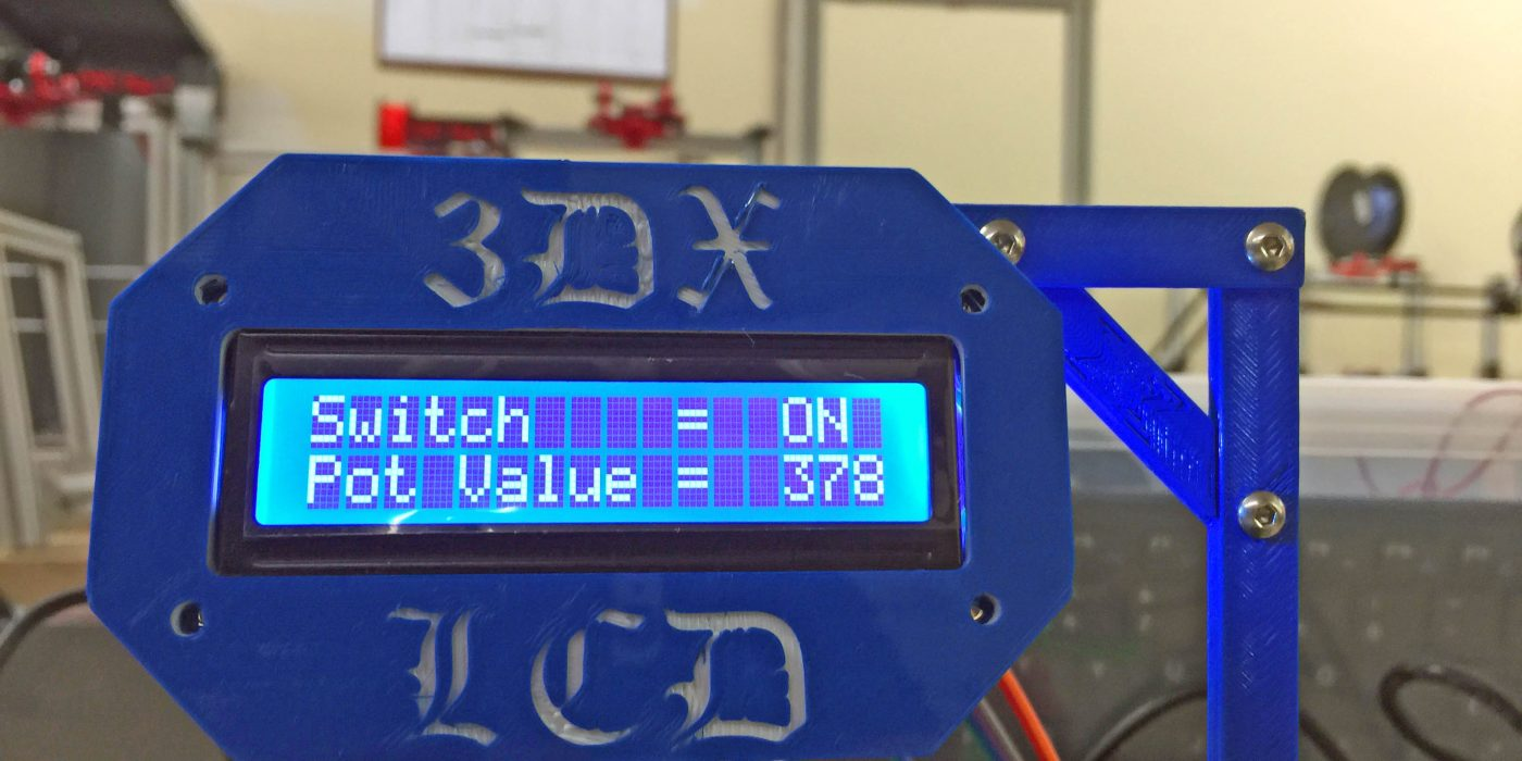 LCD switch project