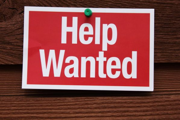 Help wanted for on track race official.