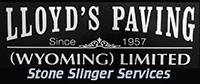 Lloyd's Paving Stone Slinger Services s200