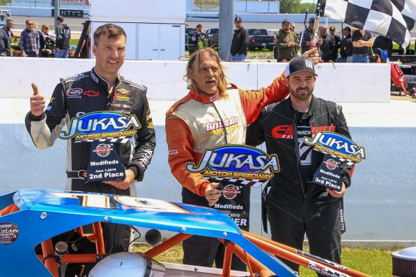 OSCAAR Modified Series Top 3 at Jukasa Motor Speedway 2019